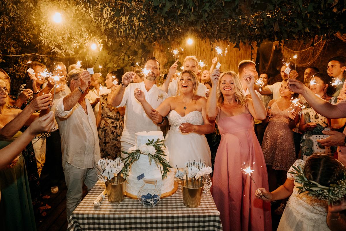 Electra + Achim / Skiathos wedding
